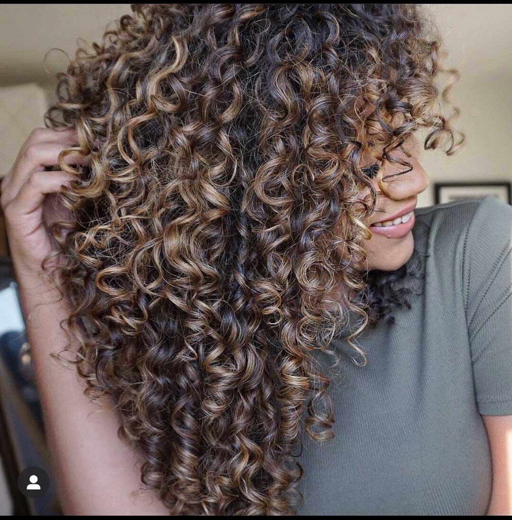 انواع موی فرفری