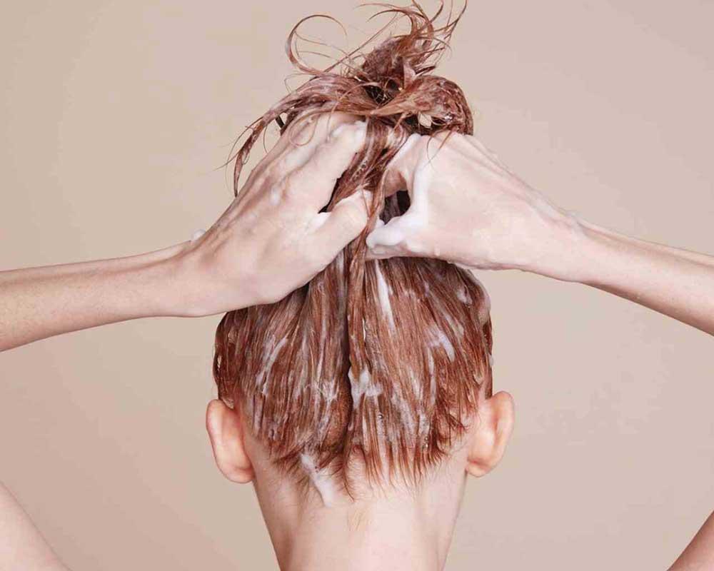 ماسک مو برای موی خشک