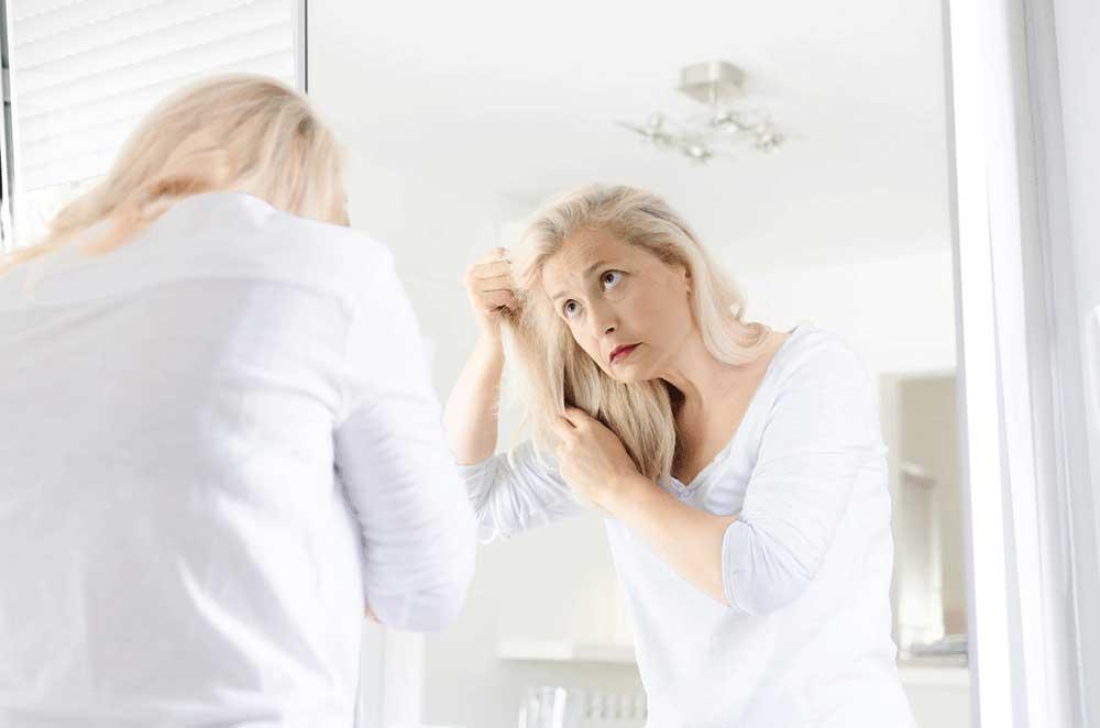 تغییرات هورمونی و شیمیایی مو