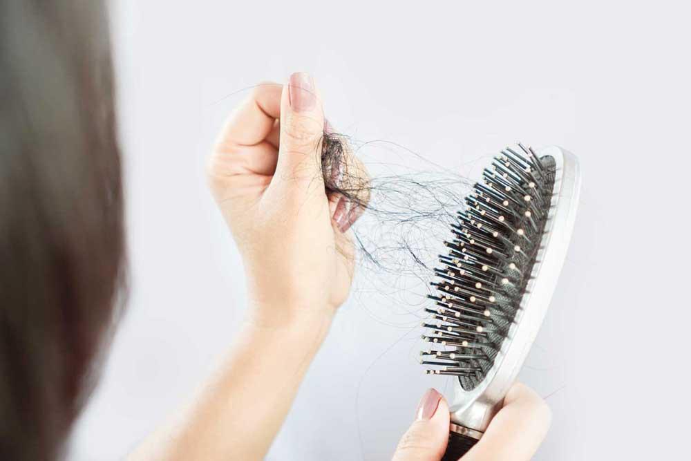 تاثیر استرس بر مو