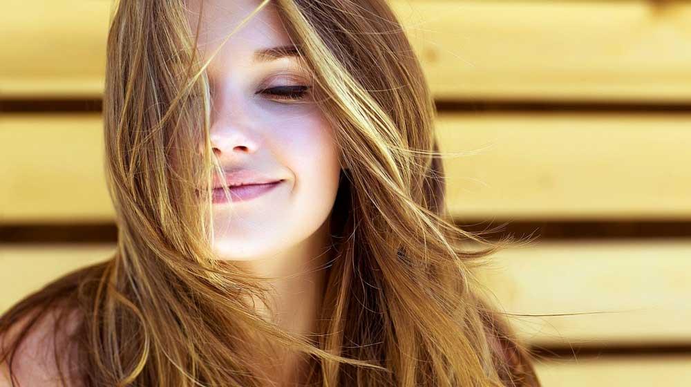 موهای سالم و شاداب