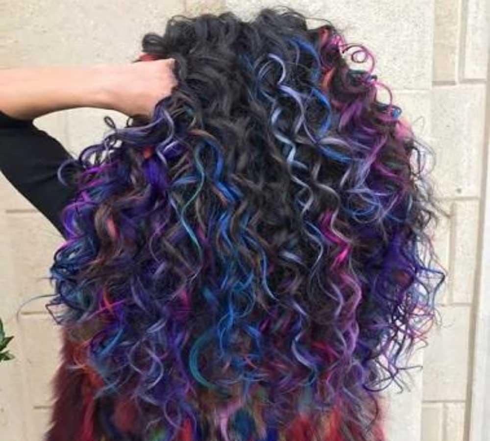 رنگ موهای مدرن