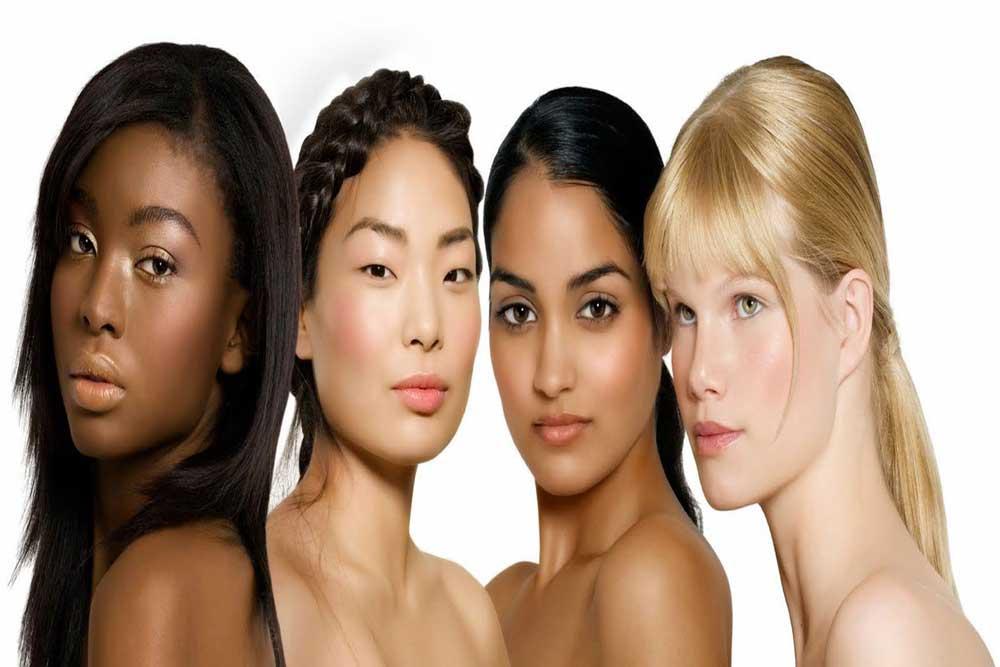 نژادهای متنوع مو