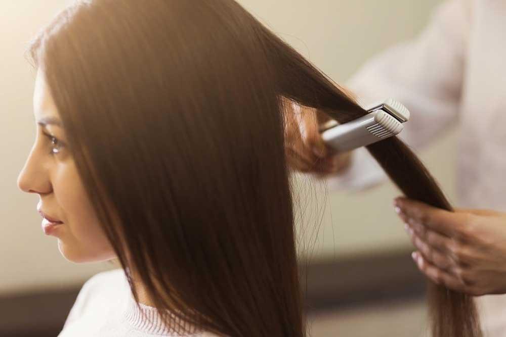 اتوی مو برای از بین بردن رشک