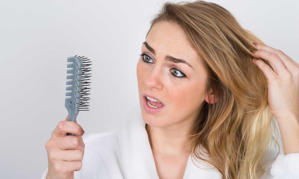 ریزش موی واقعی