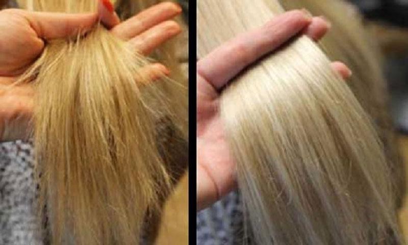ترمیم مو با محصولات موثر