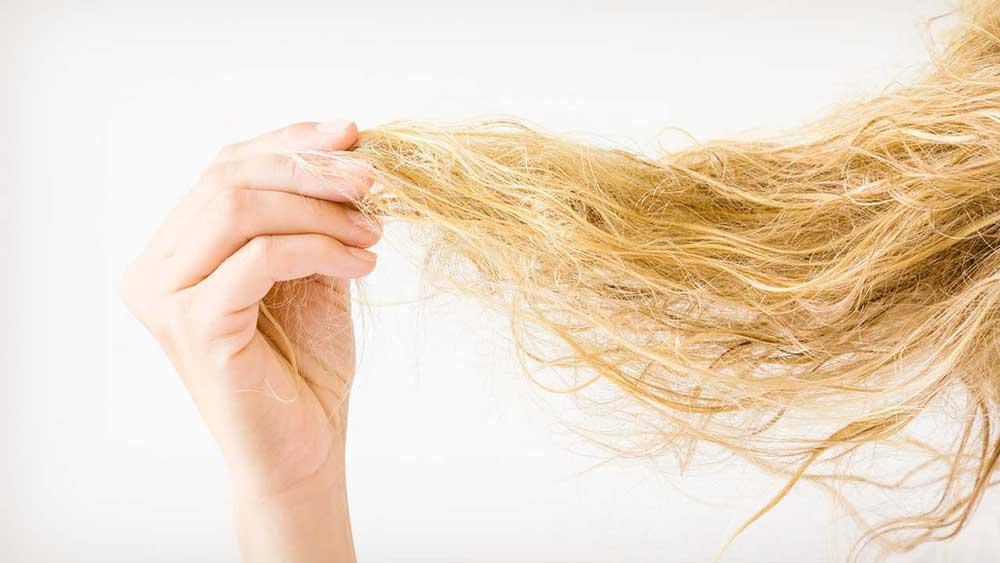 خشکی بیش از حد مو