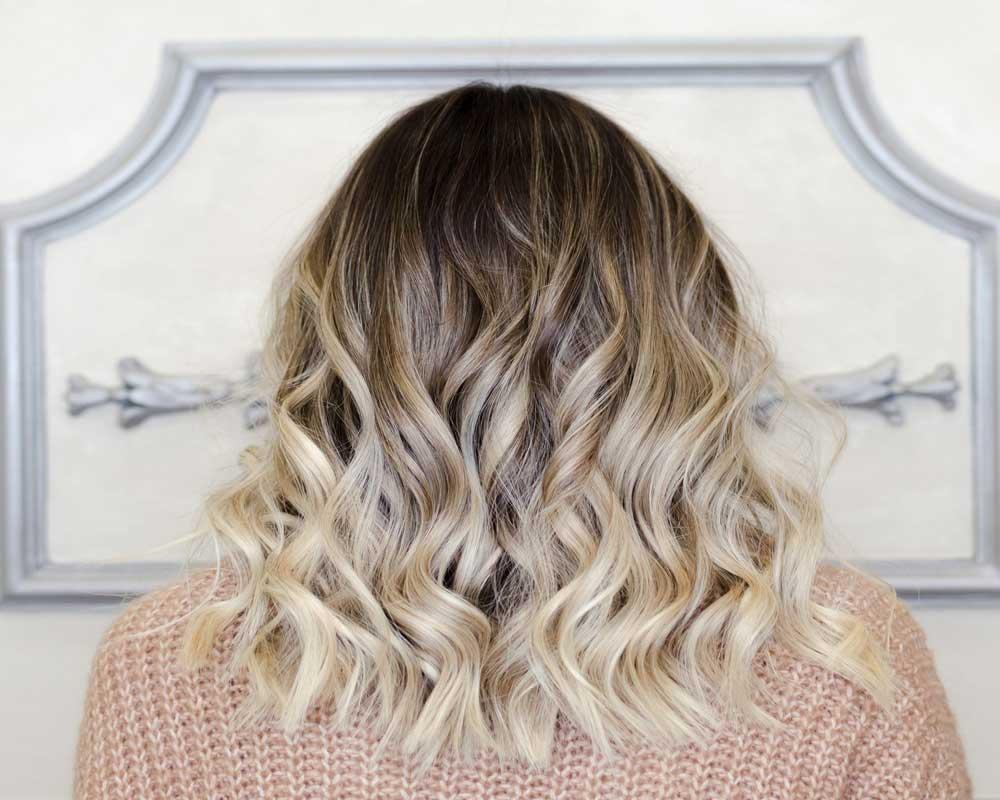 سایه روشن مو