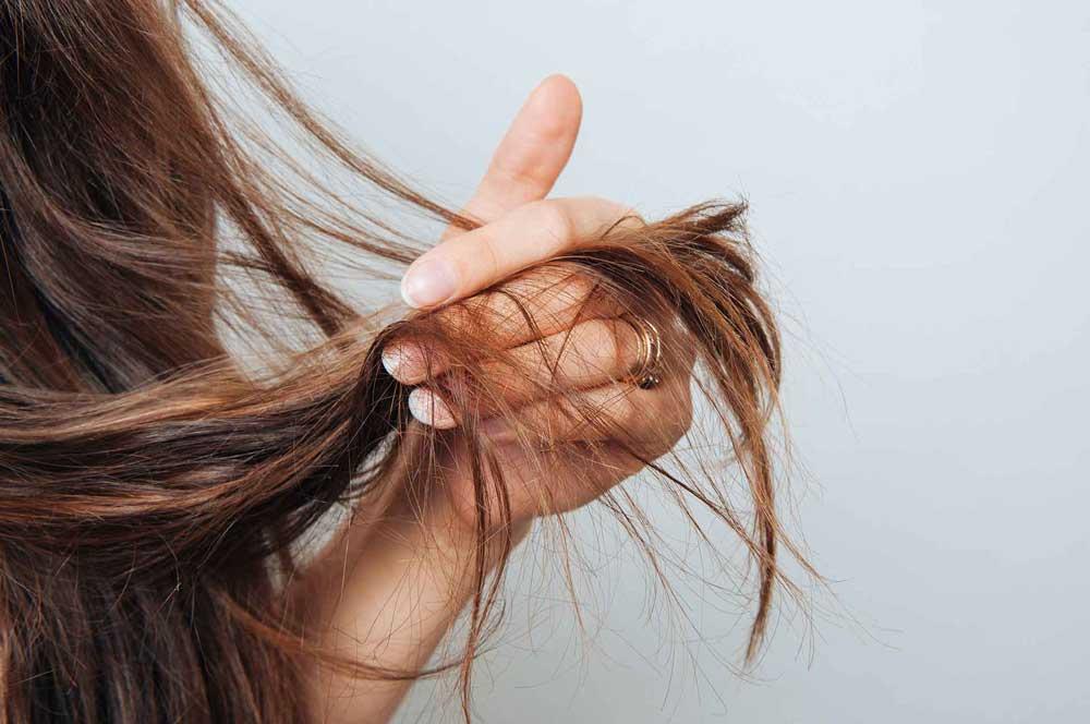 ترمیم موهای آسیب دیده