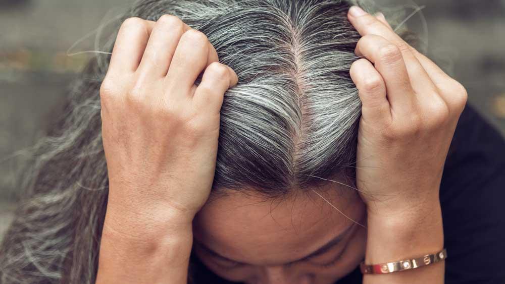موی خاکستری
