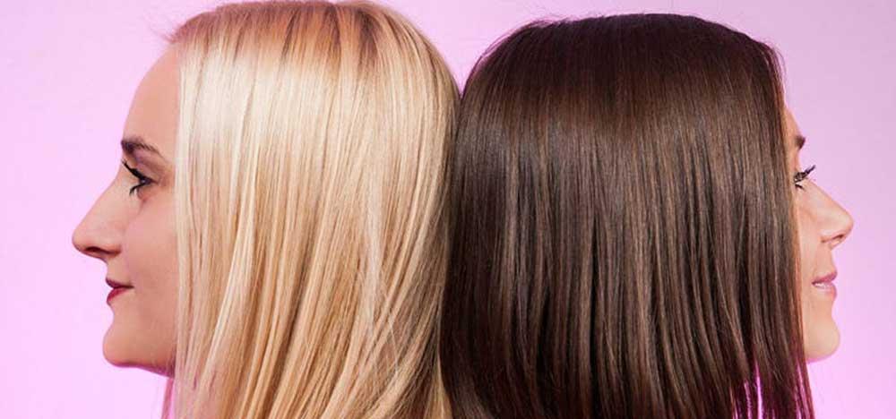 رنگ کردن مو بدون دکلره