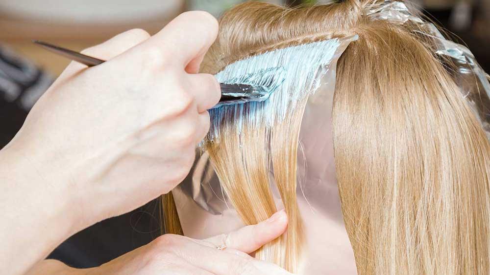 رنگ کردن موهای خکستری