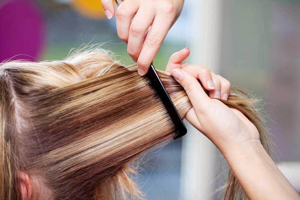مراحل رنگکردن مو بدون دکلره