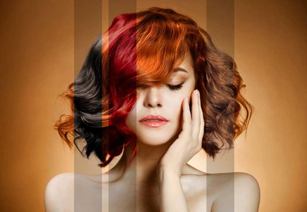تاریخچه رنگ موهای هر فرد