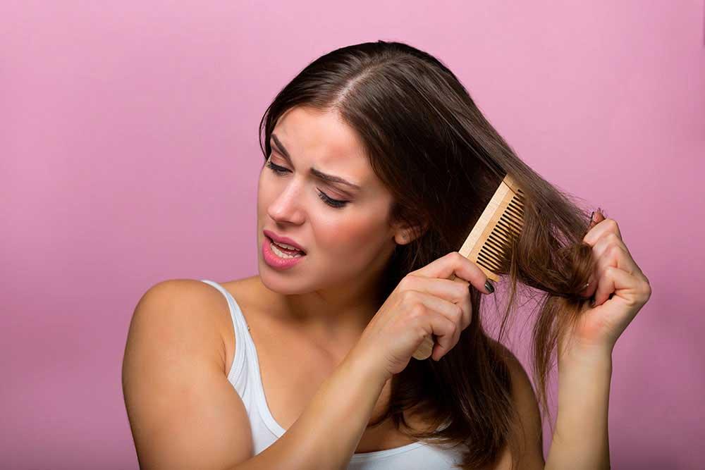 ترمیم و احیای موی آسیب دیده