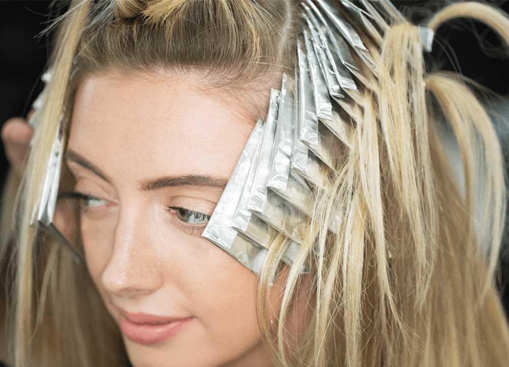 انواع هایلایت موی روشن
