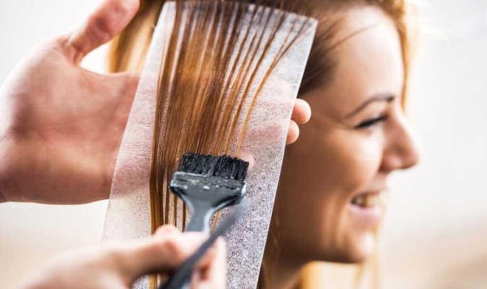 آموزش رنگکردن مو بدون دکلره