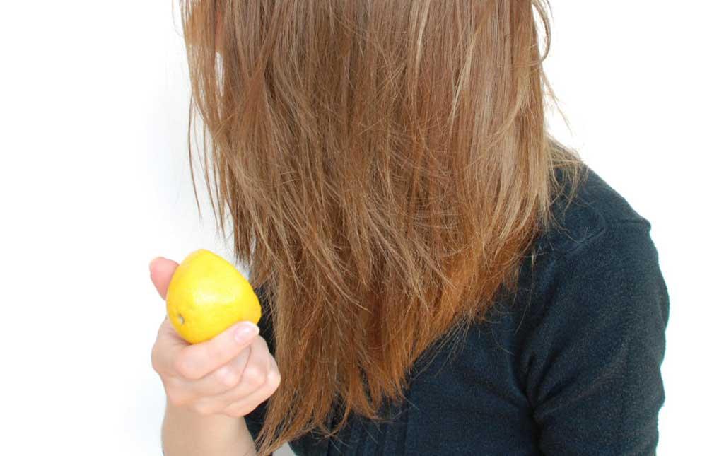 مراحل رنگ کردن مو با آبلیمو