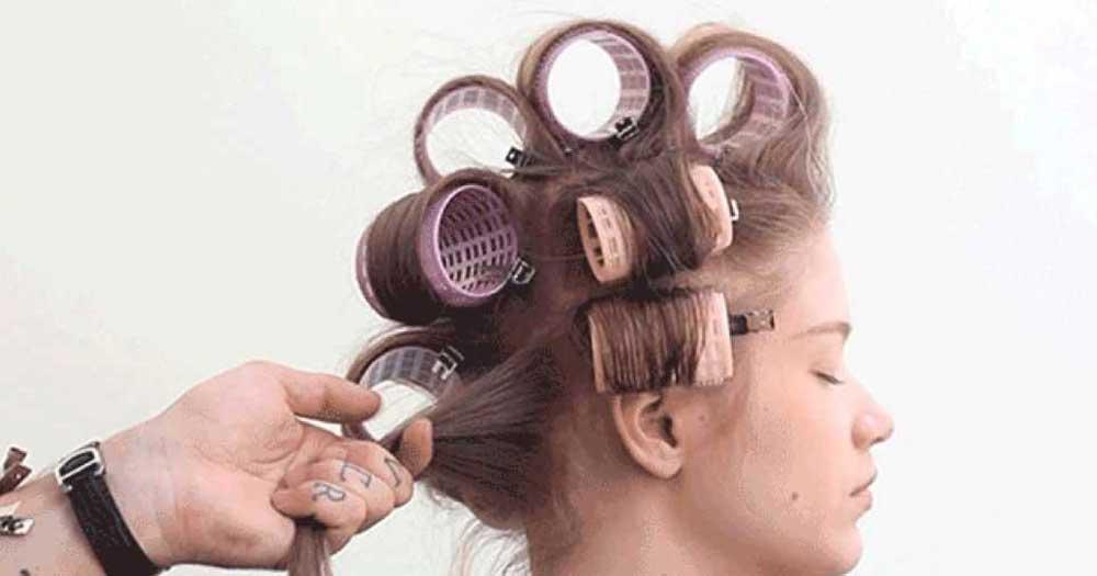 بیگودی برای حالت دادن به موها