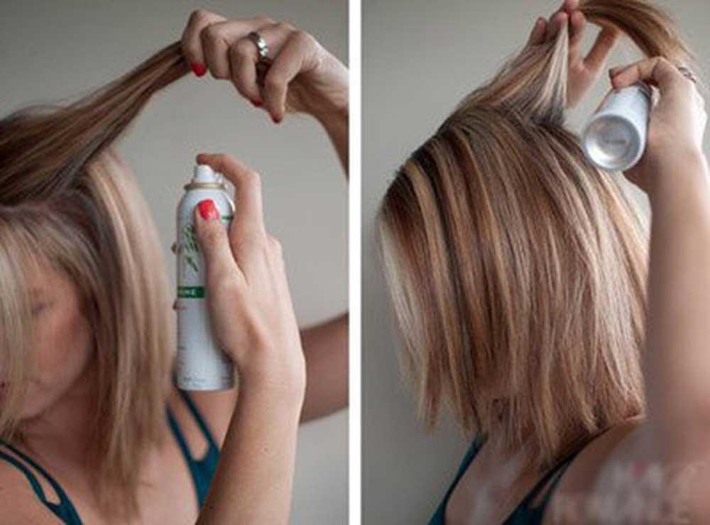 شامپوی خشک برای مو