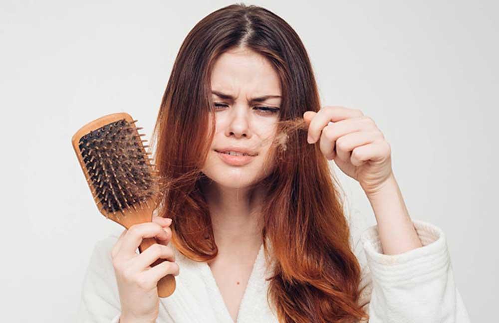 علل ریختن موهای بلند