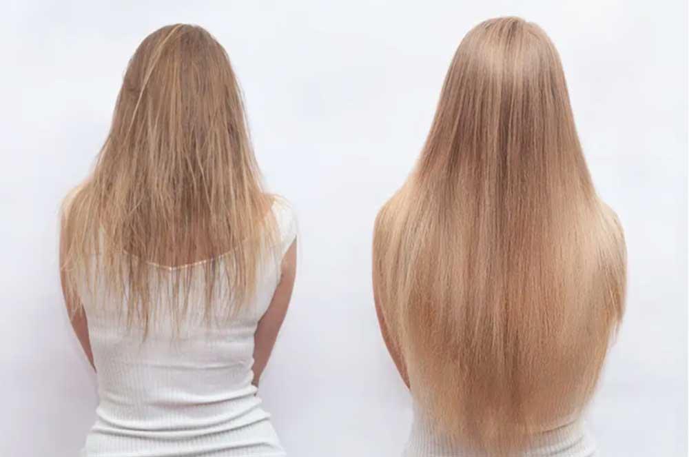 تقویت موی نازک