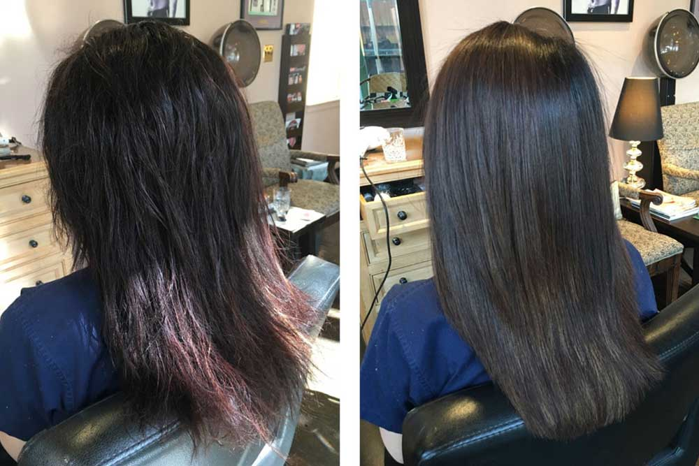 انواع تونیک موی روغنی