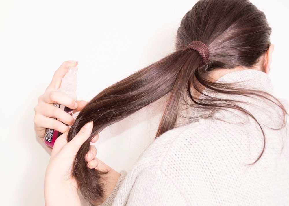 استفاده از سرم مو روی موهای خشک