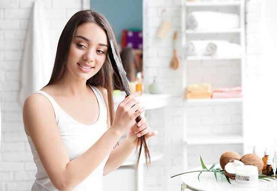 مواد خانگی برای مراقبت موها