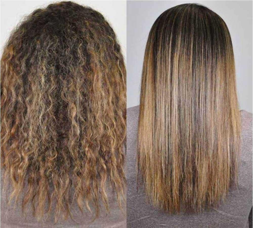 مزایای کراتین کردن مو