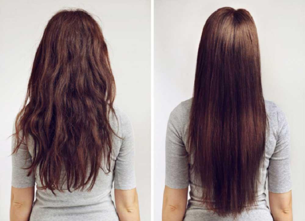مراحل کراتین کردن مو