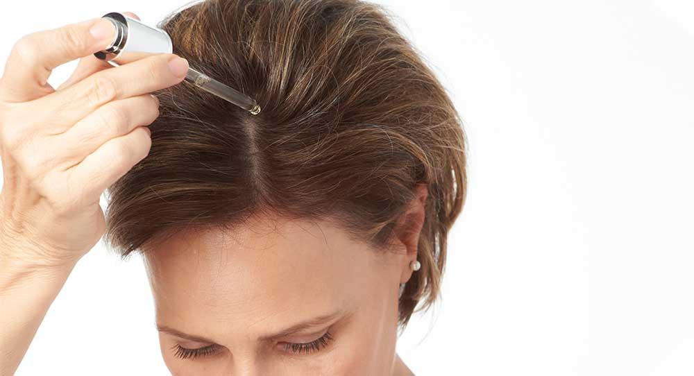 روش استفاده از سرم مو
