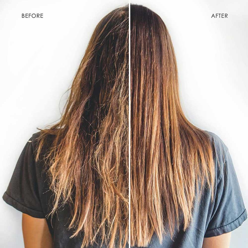 مراحل صاف کردن موها