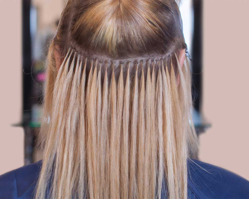 اکستنشن موی مصنوعی