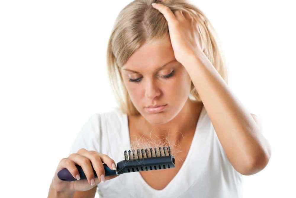 تاثیر هورمون ها بر ریزش مو