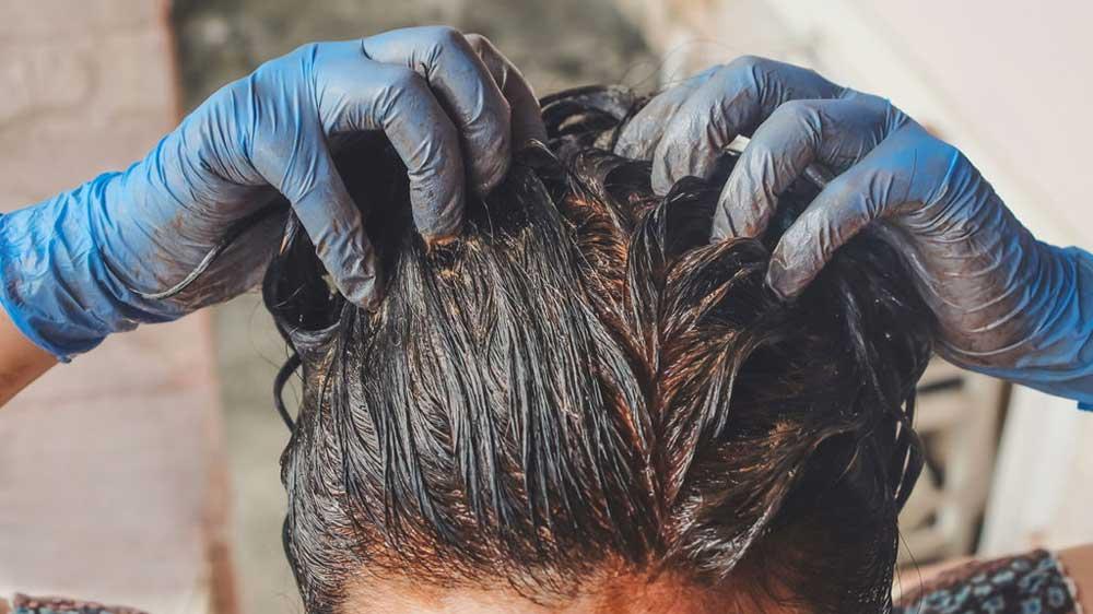 ساخت رنگ مو با پودر گردو