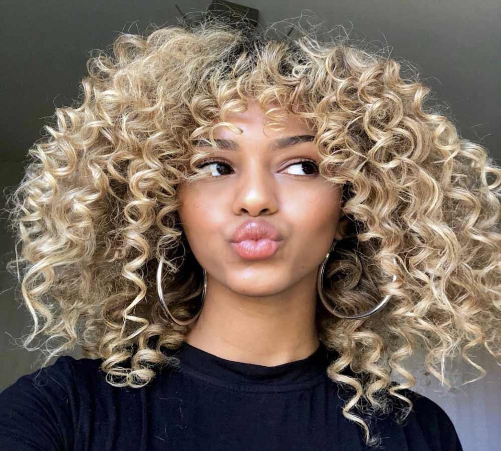 مراقبت از موی فر بلند