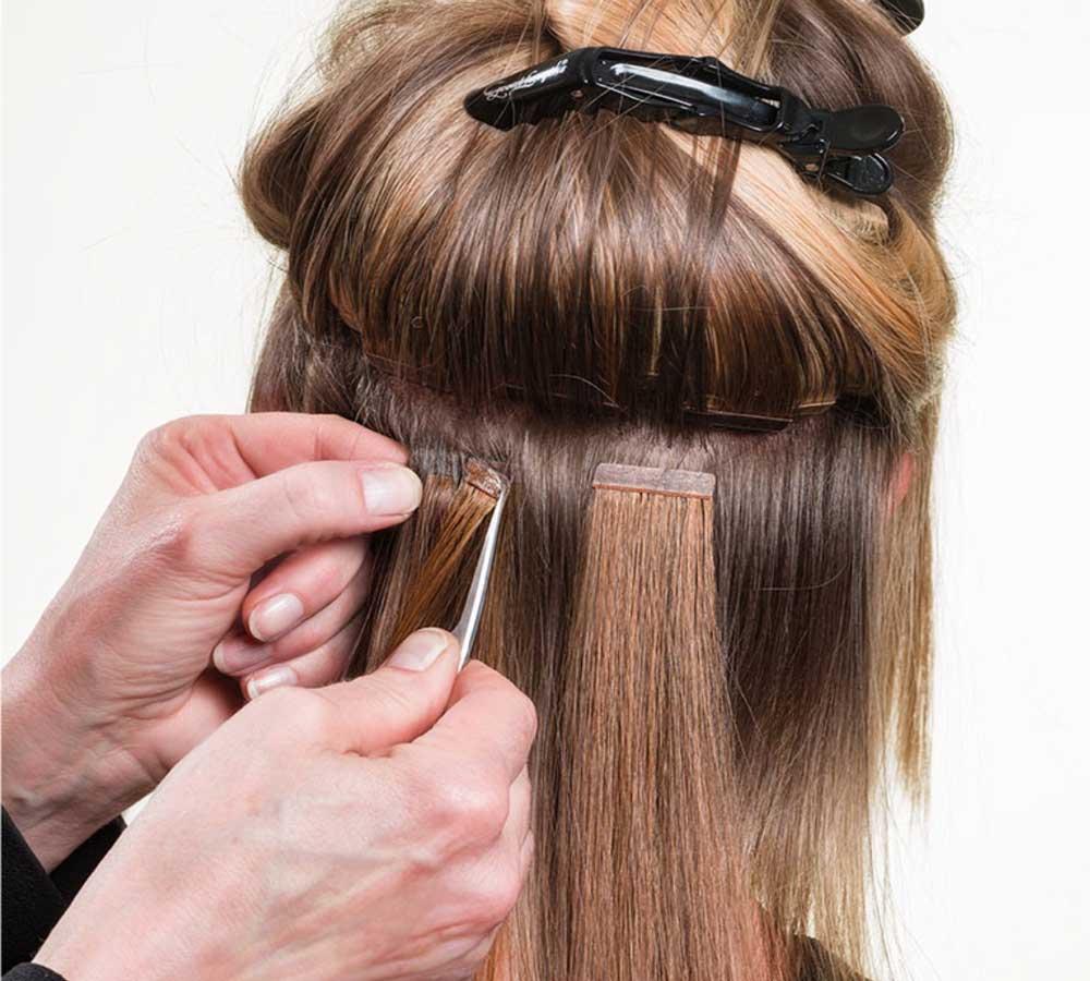 اکستنشن موی طبیعی