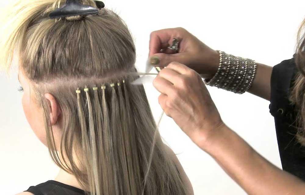 روش های بلند کردن موها