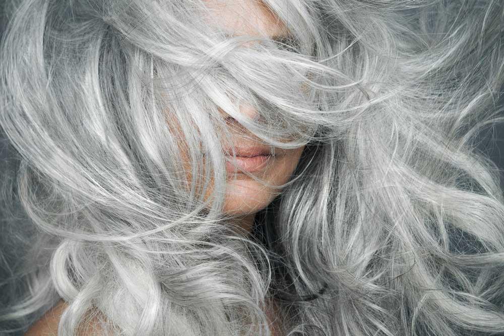 رنگ کردن موی سفید