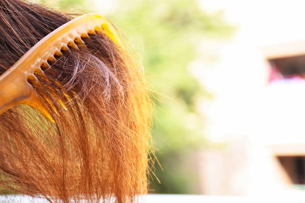 روش های مراقبت از موی خشک