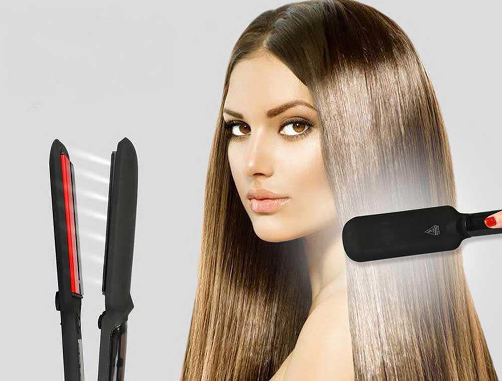 صاف کردن موها با اتوی موی مناسب