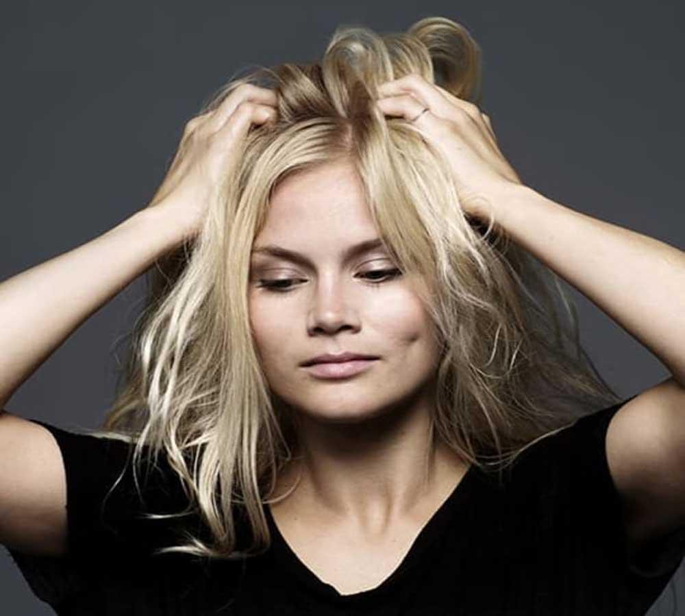 درمان چربی بیش از حد موها