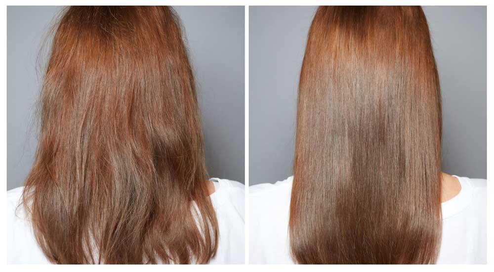 راه های صاف کردن موی فر