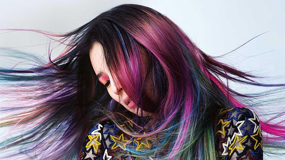 رنگ کردن موها در خانه