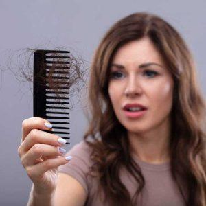 درمان ریزش موی تیروئیدی