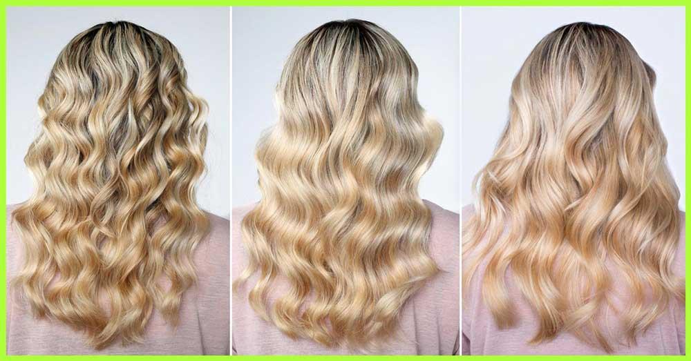 انواع موی مواج