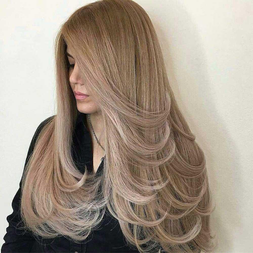 رنگ موی نسکافه ای