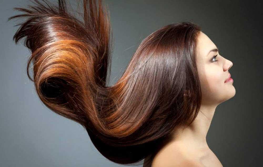 درخشان شدن موهای کدر