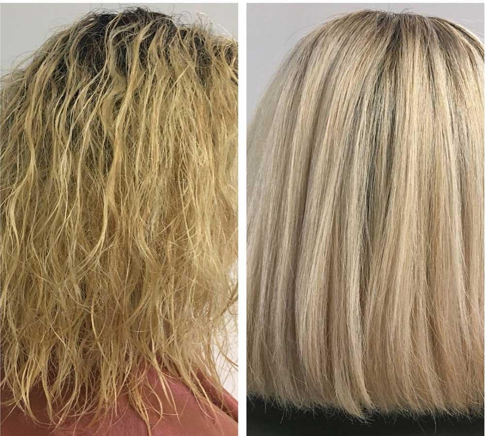تفاوت بوتاکس مو و کراتینه مو